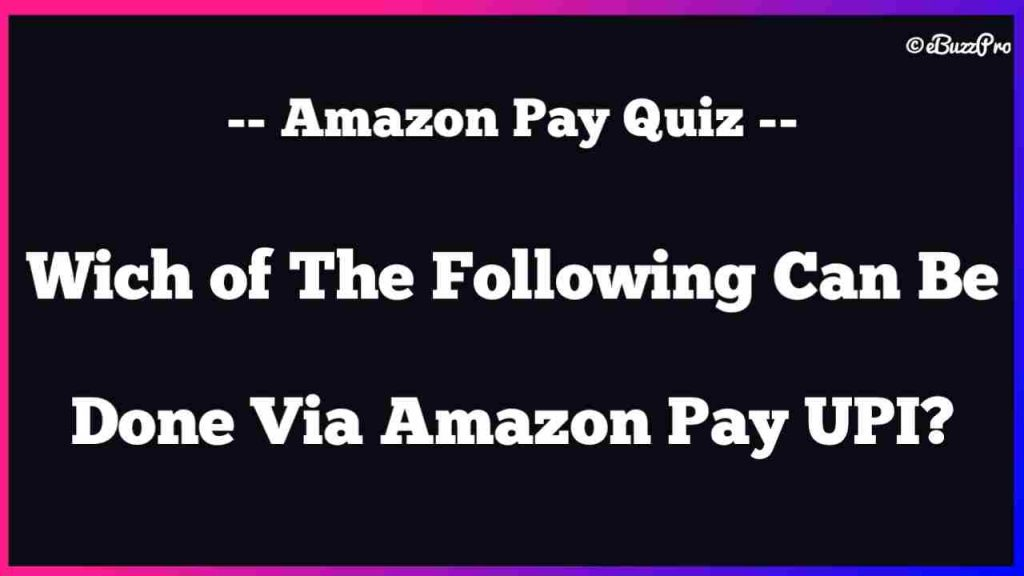 Which of These is Most Accurate For Amazon Pay Later?